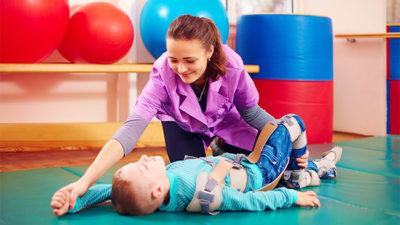 Fisioterapia - Paralisia Cerebral